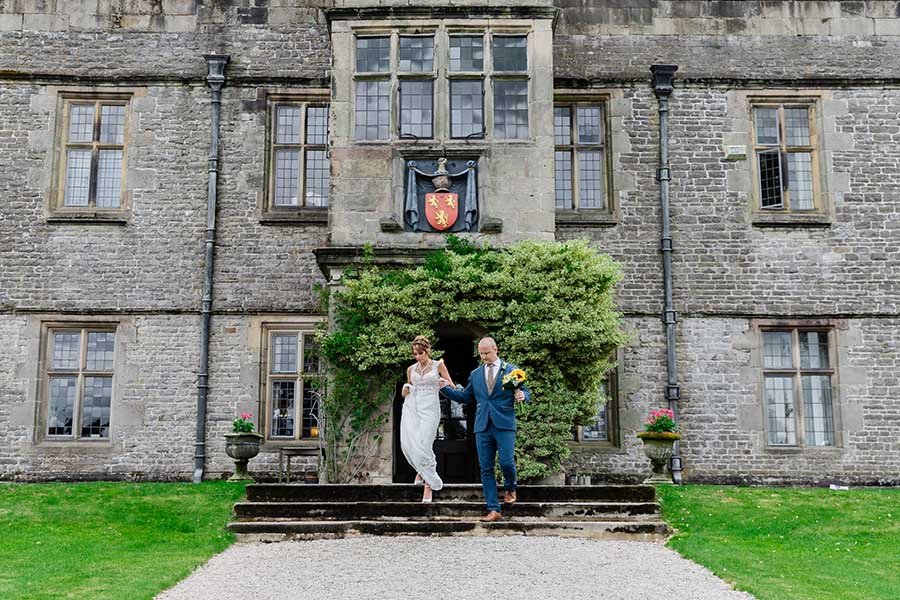 Tissington Hall Wedding